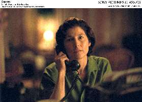 Catherine Keener suspects Truman Capote is a 40 Year Old Virgin.