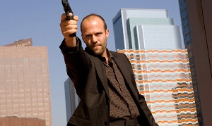 Jason Statham is sooo tired of those damn questionnaire guys in the High Street.