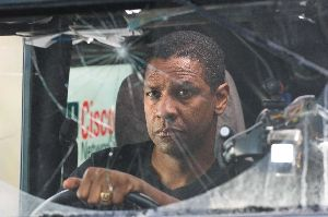 Denzel Washington considers going back in time and reducing his windscreen excess.