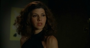 Marisa Tomei, taking the hair of the dog a little too literally.