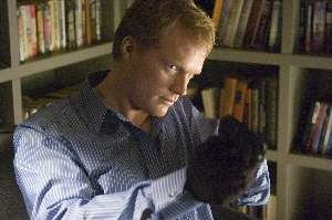 Paul Bettany, thanking his lucky stars that Jennifer Connelly likes redheads.