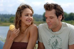 Jessica Alba has no idea that Dane Cook slipped some Rohypnol into her ice cream.