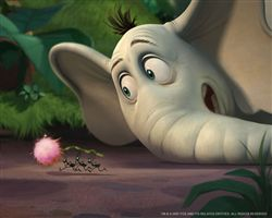 Horton hears a tuft of candy floss.
