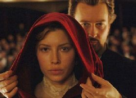 Edward Norton and Jessica Biel loved dressing up as characters from The Village.