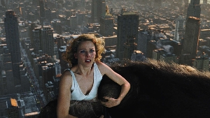 Naomi Watts suddenly realises the pain a horny 25-foot gorilla could cause.