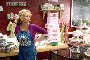 Virginia Madsen does a spot of celebrity cheffing rather than go back on set.