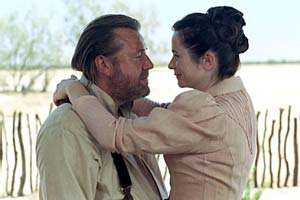 Emily Watson loves the smell of two-week old sweat on Ray Winstone.