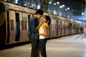Dev Patel and Freida Pinto find the only deserted railway platform in Indian history.