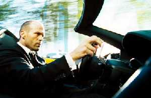 Jason Statham takes a Lambo Murcielago from Reality Town into Daftsville.