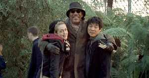 Kerry Condon, Morgan Freeman and Imelda Marcos