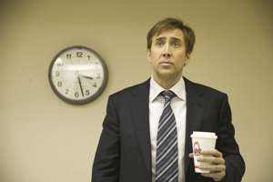 Nicolas Cage finds his first coffee enema strangely refreshing.